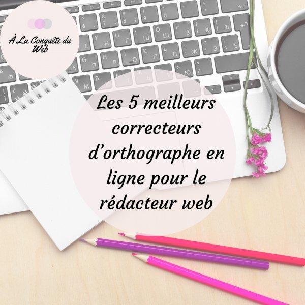 Correcteur orthographe en ligne
