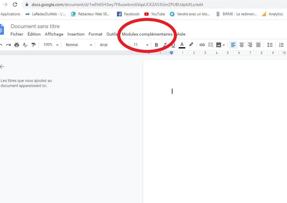 Antidote Google Docs