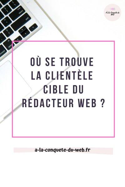Clientèle cible rédaction web
