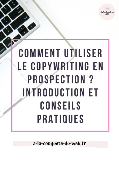 copywriting mail démarchage