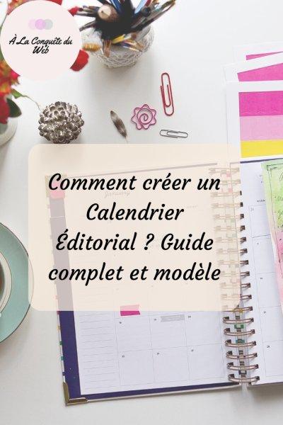 Créer un planning éditorial