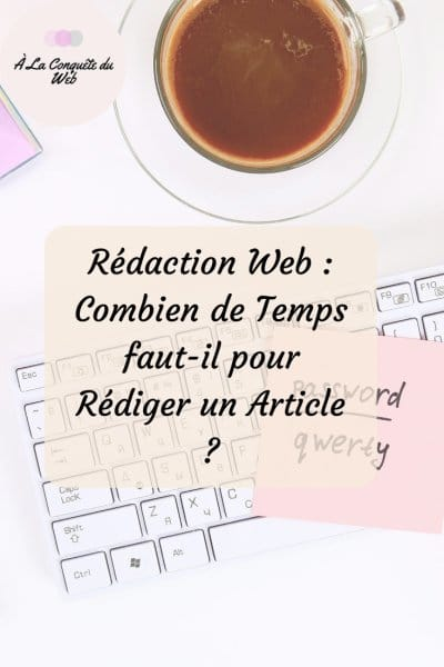 temps rédaction web