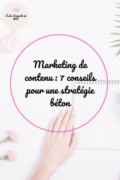 stratégie communication contenu