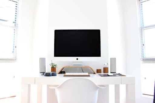 espace de travail de freelance